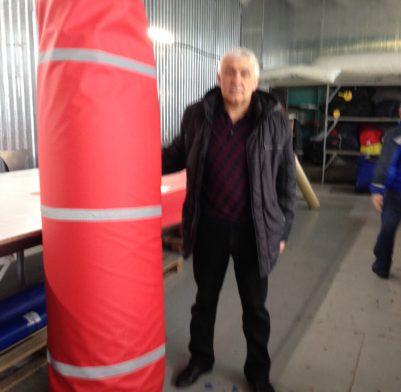 Мат защитный для колонны
