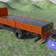 Резервуар для воды на автомобиле 02