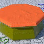 Резервуар открытый 2,85х1 3,5м3 022